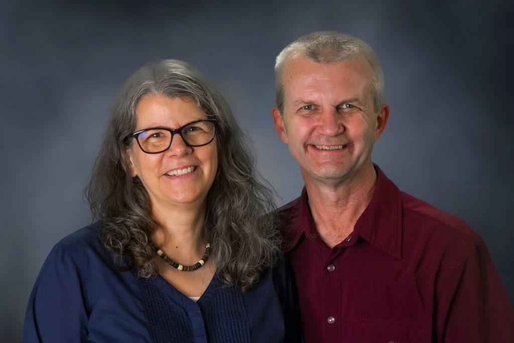 Jim and Vicki